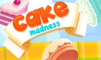 Online free browser game: Cake madness