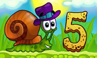 Online free browser game: Snail Bob 5