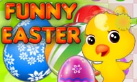 Online free browser game: Funny Easter