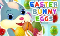 Online free browser game: Easter Bunny Eggs