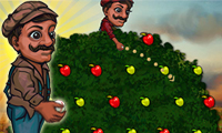 Online free browser game: Drop the fruit