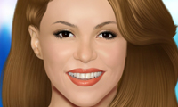 Online free browser game: Shakira Makeover