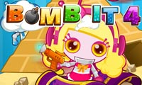 Online free browser game: Bomb It 4
