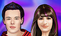 Online free browser game: Glee Celebrity Makeover