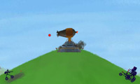 Online free browser game: HUGO: Cannonball