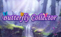 Online free browser game: Butterfly Collector