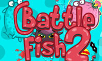 Online free browser game: Battle fish 2