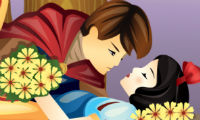 Online free browser game: Snow White Kiss