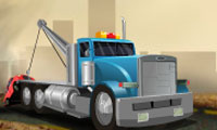 Online free browser game: Towing Mania