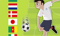 Online free browser game: Soccer World Cup 2010