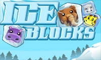 Online free browser game: Ice Block