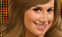 Online free browser game: Ashley Tisdale Makeover