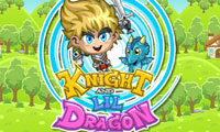 Online free browser game: Knight and Lil Dragon