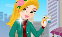 Online free browser game: Fashion Street Snap Dress Up