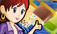 Online free browser game: Popsicles: Sara\\\'s Cooking Class