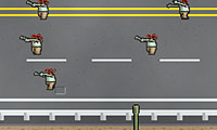Online free browser game: Zombroad