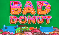 Online free browser game: Bad Donut