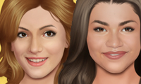 Online free browser game: Shake It Up Makeover
