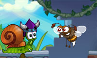 Online free browser game: Snail Bob 7: Fantasy Story