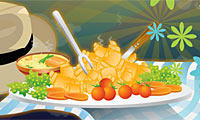 Online free browser game: Holiday Dish Quiz