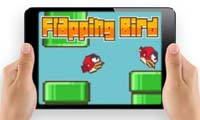 Online free browser game: Flapping Bird