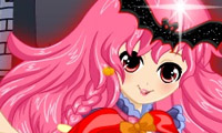Online free browser game: Cute Witchy Dress-Up