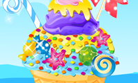 Online free browser game: Ice Cream Decoration