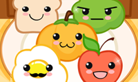Online free browser game: Lovely Food Family