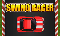Online free browser game: Swing Racer