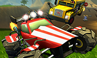 Online free browser game: Crash Drive 2