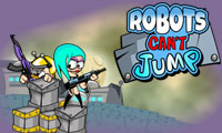 Online free browser game: Robots Can\\\'t Jump