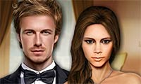 Online free browser game: Beckham Celebrity Makeover
