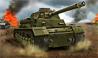 Online free browser game: Tank Attack