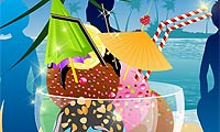 Online free browser game: Yummy Ice Cream Decoration