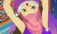 Online free browser game: Belly Dancer Girl Perfect Dress Up