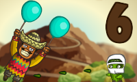 Online free browser game: Amigo Pancho 6