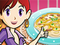 Chicken Fettuccine: Saras Cooking Class