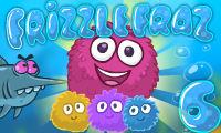 Online free browser game: Frizzle Fraz 6