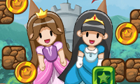Online free browser game: Hop Hop Princess