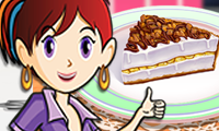 Online free browser game: Banana Split Pie: Sara\\\'s Cooking Class