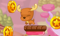Online free browser game: Hop Hop Animals