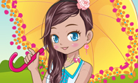 Online free browser game: Kawaii Beauty Dress Up