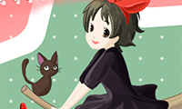 Online free browser game: Kiki\\\'s Delivery Service