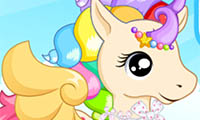 Online free browser game: Pretty Unicorn