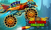 Online free browser game: Mad Truck Challenge
