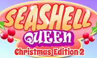 Online free browser game: Seashell Queen Christmas Edition 2