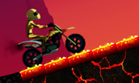 Online free browser game: Volcano Ride