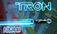 Online free browser game: Kogama: 2 Player Tron