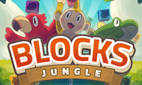 Online free browser game: Blocks Jungle