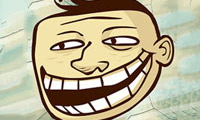 Online free browser game: Trollface Quest 13